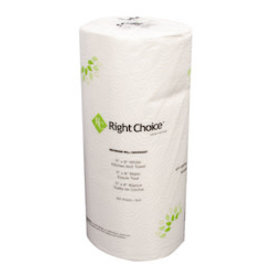 Right Choice Paper Towels, Right Choice 2 Ply 250 sheet 12ct. Case