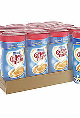 CoffeeMate Creamer, Canister CoffeeMate French Vanilla 12/15oz. Case
