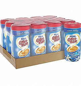 CoffeeMate Creamer, Canister CoffeeMate French Vanilla 12/15oz. Case