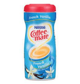 CoffeeMate Creamer, Canister CoffeeMate French Vanilla 15oz.
