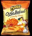 FRITO LAY Cheetos Baked Crunchy 104/1oz Case