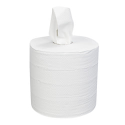 "Right Choice Centerpull Towel, Right Choice 2-Ply White 7.3x10"" 6/600ct. Case"