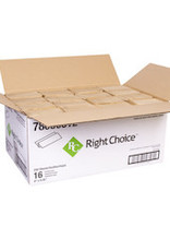 Right Choice Multifold Towels, Right Choice Natural 16/250ct. Case
