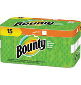 PROCTER & GAMBLE Paper Towels, Bounty 2ply 15ct. Case