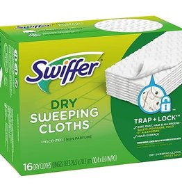 PROCTER & GAMBLE Swiffer, Dry Sweeping Cloths Refills 16ct