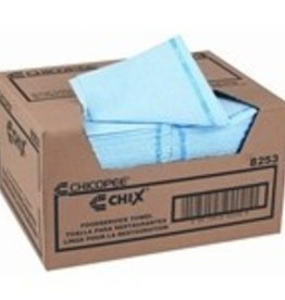 Chicopee Towels, Blue Food Service Towels 150ct. Case