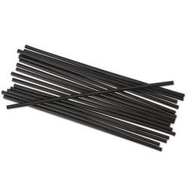 "PRIME SOURCE Stir Stick, Plastic 5"" Black 1,000ct. Box"