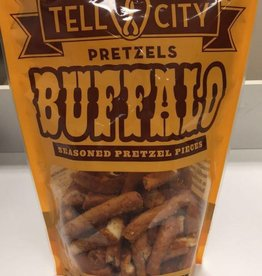 Tell City Tell City Pretzel, Large Twisted Buffalo Pieces 12oz Bag