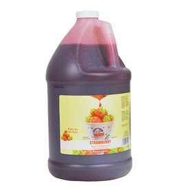 Sno-Kone Sno-Kone Syrup, Strawberry 1Gallon
