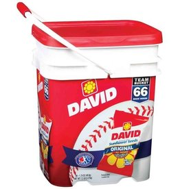 CONAGRA GILARDI David's Sunflower Seeds, 60ct. Bucket