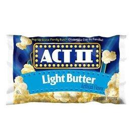 CONAGRA MICROWAVE POPCORN Act II Popcorn, Lite Butter 36ct. Case