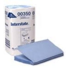 Georgia-Pacific Windshield Towels, Interstate Blue Single Fold 9/250ct.