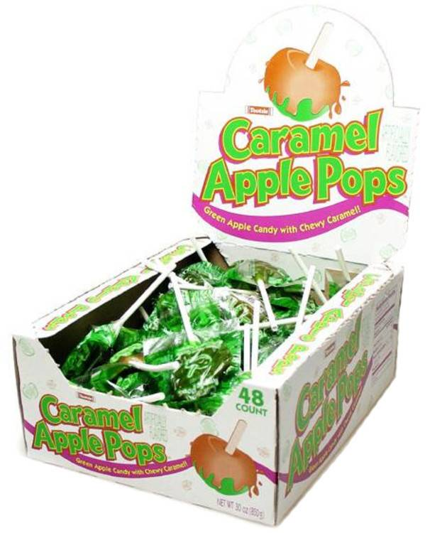 TOOTSIE ROLL Caramel Apple Pops 48ct. Package