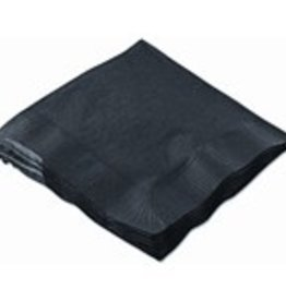 Hoffmaster® Napkin, Black Beverage Napkins 4/250ct. Case