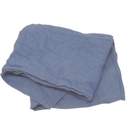 Anchor Wiping Cloth Company Towels, Recycled Blue Hemmed Towel, 25lb. Case
