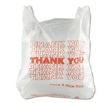 PRIME SOURCE Bags,  P/S Thank You Bags 1000ct. Case