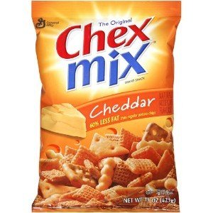 GENERAL MILLS GARDETTO'S Chex Mix Cheddar Cheese, Bag