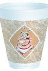 Cups, 12oz. Cafe Hot/Cold Foam Cup 20ct. Sleeve