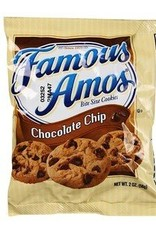 KELLOGG/KEEBLER COOKIE&CRACKER Famous Amos Chocolate Chip Cookies, Bag