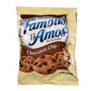 Famous Amos Chocolate Chip Cookies Bag