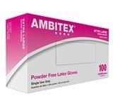 Tradex International Gloves, Powder Free Latex X-Large 100ct. Box