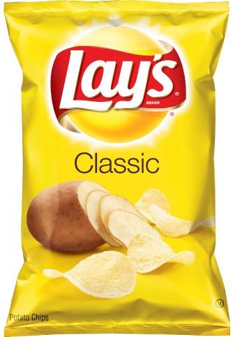 FRITO-LAY/LARGE SINGLE SERVE Lays Regular, LSS Bag