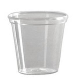 Fineline Settings Inc. Shot Cup, 2oz. Clear Tumbler 50ct. Sleeve