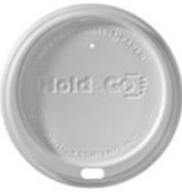 Lids, 12-20 oz. White Dome Lid (LHDD) 100 ct. Sleeve