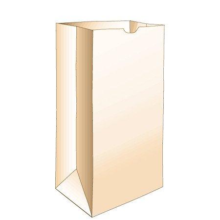 Duro Bag 4lb. Brown Paper Bags 500ct.