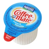 CoffeeMate Creamer, Liquid French Vanilla (CoffeeMate) 180ct. Box