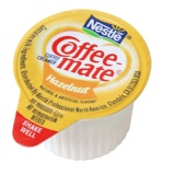 CoffeeMate Creamer, Liquid Hazelnut (CoffeeMate) 180ct. Box