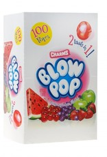 CHARMS Blow Pops, Charms Assorted 100ct. Box