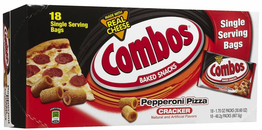 MARS CHOCOLATE NORTH AMERICA Combos, Pepperoni Pizza 18ct. Box