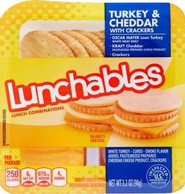 Lunchable Lunchables, Turkey & Cheddar