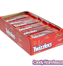 HERSHEY FOODS Twizzlers, Strawberry 18ct. Box