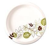 "Dixie Food Service Plates, 9"" Dixie Paper Plate 8/125ct. Case"
