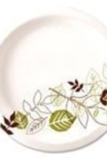 """Dixie Food Service Plates, 9"""" Dixie Paper Plate 125ct. Sleeve"""