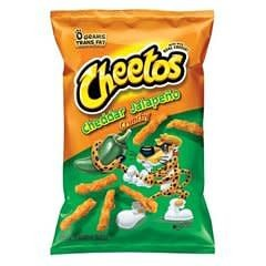FRITO-LAY/LARGE SINGLE SERVE Cheetos Cheddar Jalapeno, LSS Bag