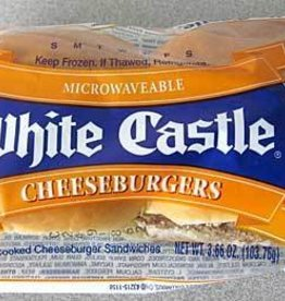 WHITE CASTLE FOOD PRODUCTS LLC White Castle Cheeseburger