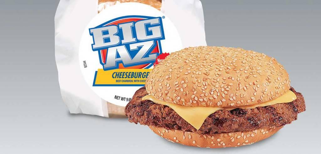 Advance Pierre Foods Big Az Cheeseburger Sandwich