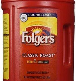 Procter & Gamble Folgers Classic Roast 48oz. Canister
