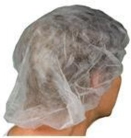 "Tradex International Bouffant Caps, 21"" Non-Woven 100ct. Bag"