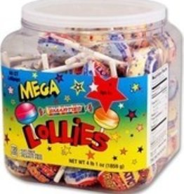 CEDE CANDY Smarties, Mega Lollie 60ct. Tub