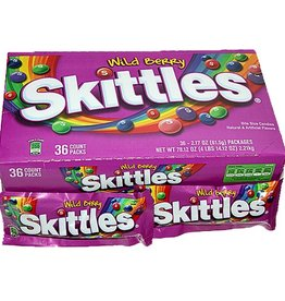 WM. WRIGLEY JR. COMPANY Skittles, Wild Berry 36ct box