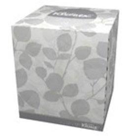 Kimberly-Clark Facial Tissue, Kleenex Cube Box (21270) 36/95ct. Case