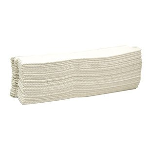 C-fold Towel, Simple Earth White 2400ct Case