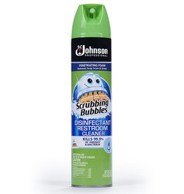 Scrubbing Bubbles, Disinfectant Restroom Cleaner 25oz. Can