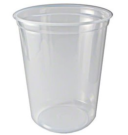 NetChoice Deli Container, 32oz. Clear Container 10/50ct. Case