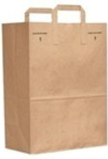 "Duro Bag Bag, Kraft Grocery Bag 12""x7""x17"" 1/6 Barrel 300ct."