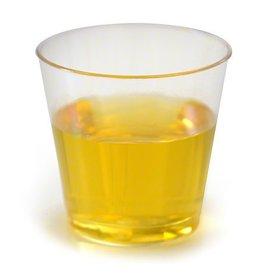 Fineline Settings Inc. Shot Cup, 1.5oz. Clear Plastic Tumbler 20/50ct. Case